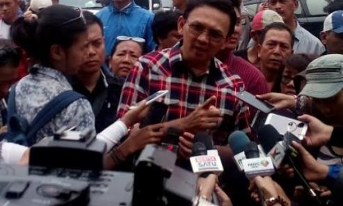 Calon gubernur DKI Jakarta nomor urut dua, Basuki Tjahaja Purnama