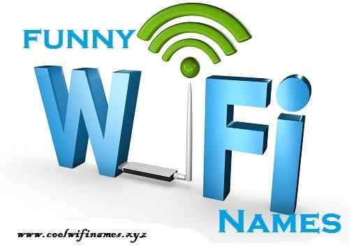 funny names for your wifi router