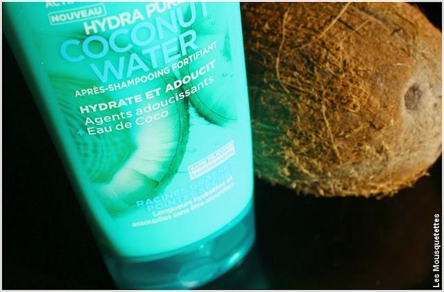 Hydra Pure Coconut Water Fructis de Garnier - Après Shampoing Cheveux mixtes - Blog beauté