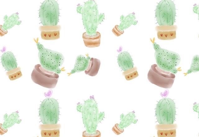 fondos, watercolor, descargar, gratis, imágenes, cactus