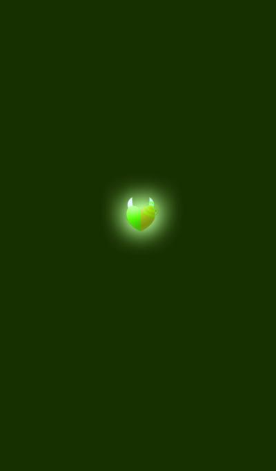 Green Lip Sexy Heart