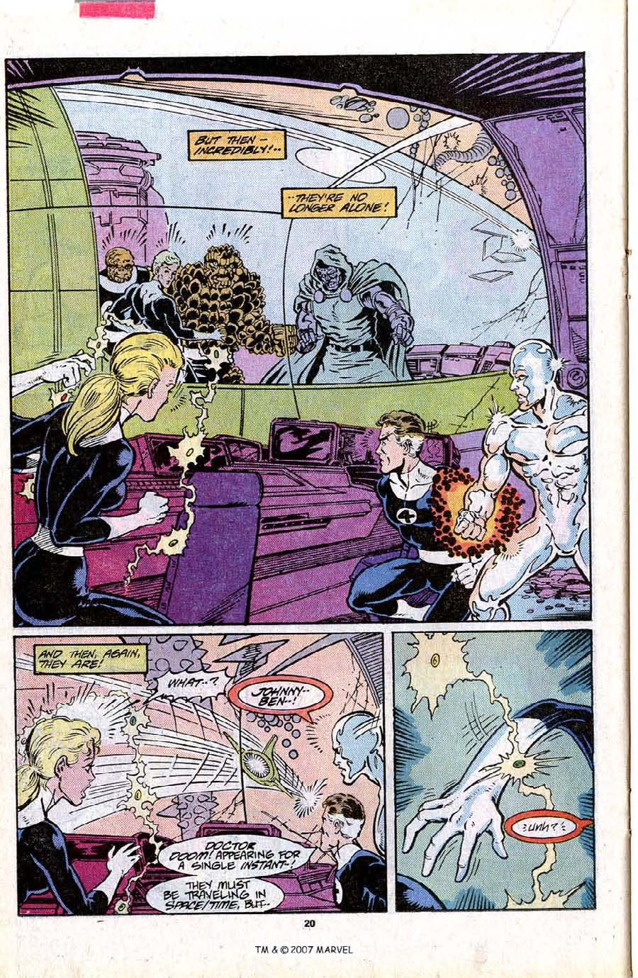 Read online Silver Surfer (1987) comic -  Issue #16 - 22