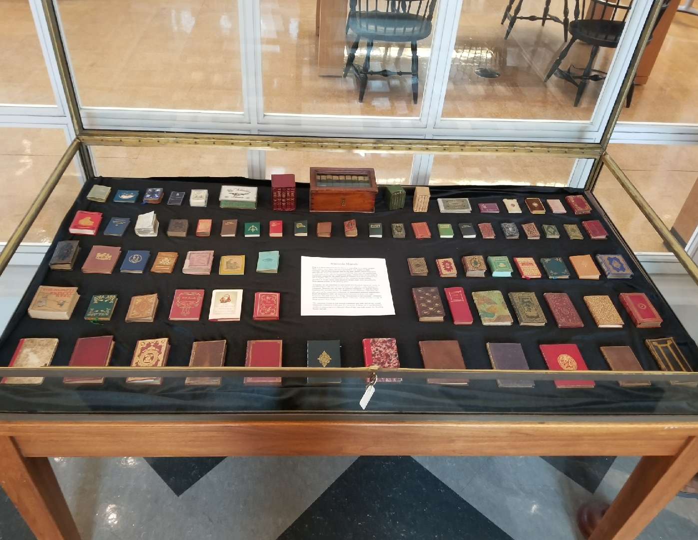 Rauner Special Collections Library: Tiny Treasures