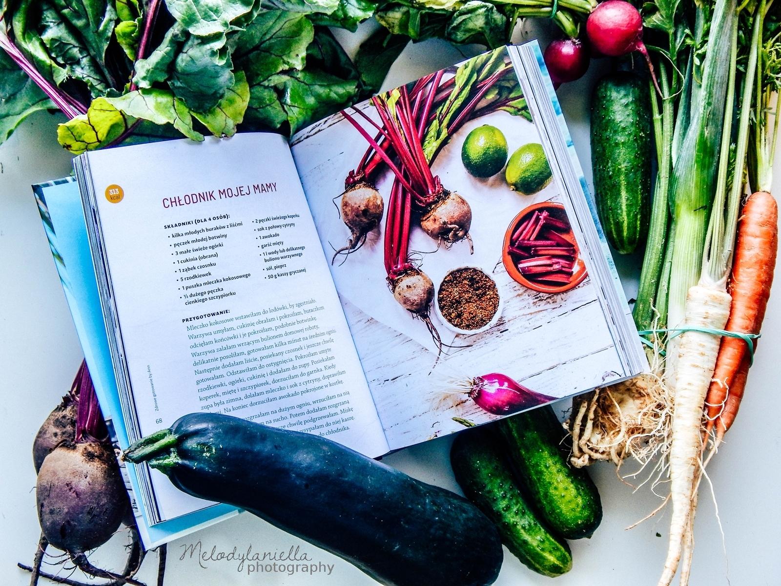 zdrowe gotowanie by ann anna lewandowska ksiazka kucharska recenzja melodylaniella jedzenie zdrowe ozywianie dieta porady fit health sportowa dieta.jpg burda chlodnik