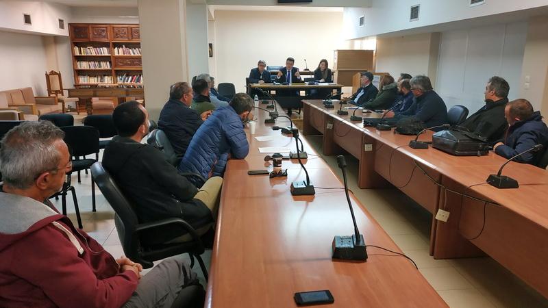 Συναντήσεις εργασίας του Αντιπεριφερειάρχη Έβρου με τους εκπαιδευτές οδηγών