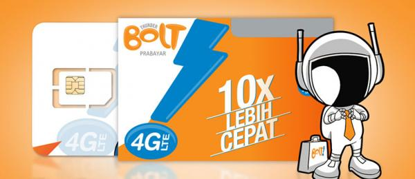 Paket Internet Unlimited BOLT