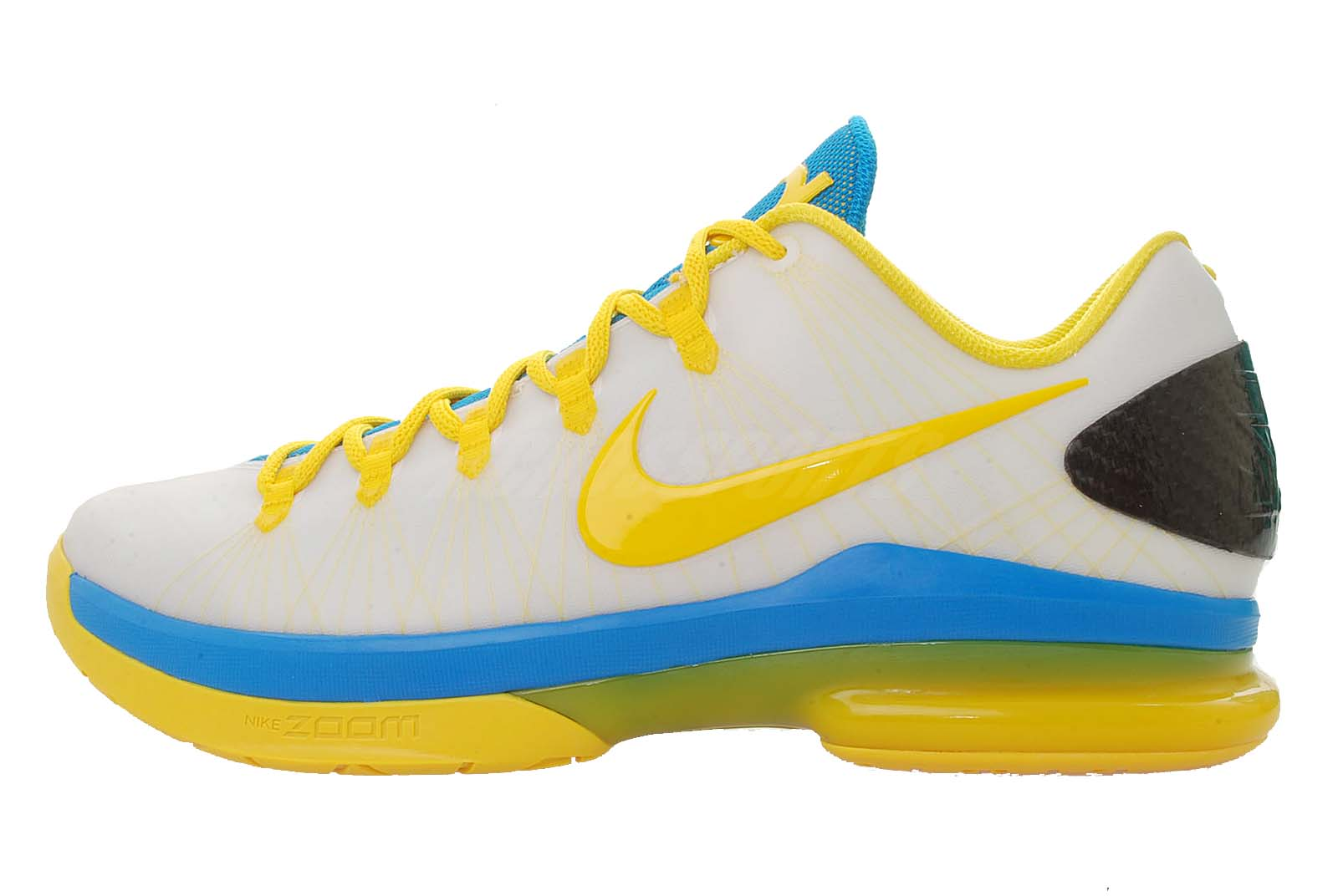 on sale 992ee 7521b This Oklahoma City styled shoe is one of two other pairs hitting the market  that are part of the Nike KD V Elite colorways.