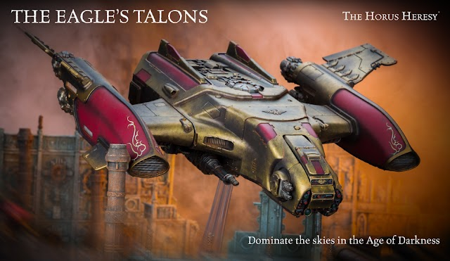 New from Forgeworld: Legio Custodes Orion Gunship with Rules