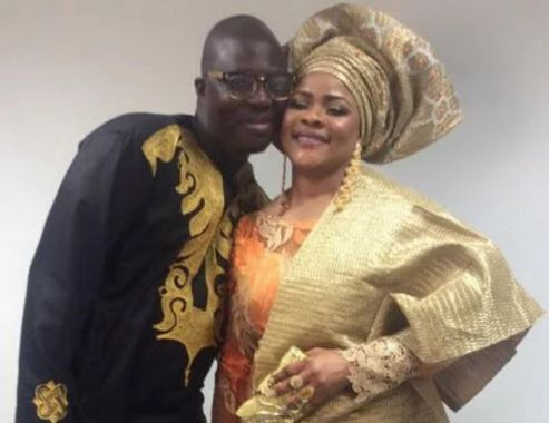 My husband lightens my mood with jokes anytime am angry — Mr. Latin's wife, Oluronke