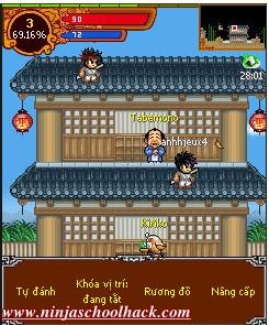 Ninja school auto click