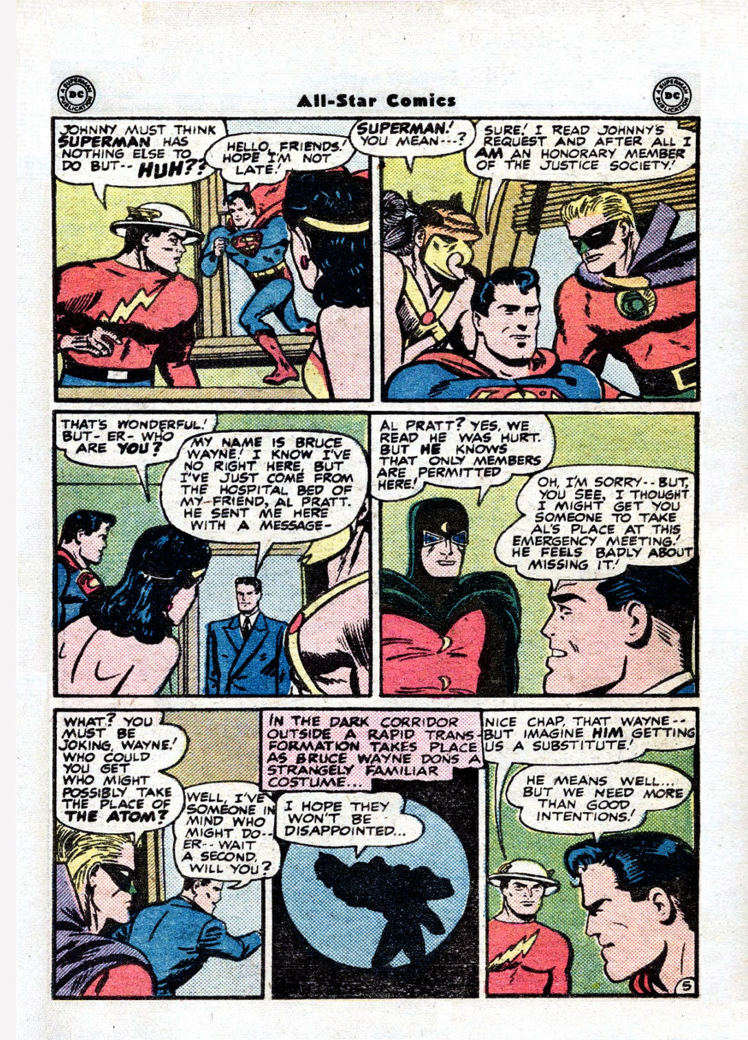 Read online All-Star Comics comic -  Issue #36 - 7