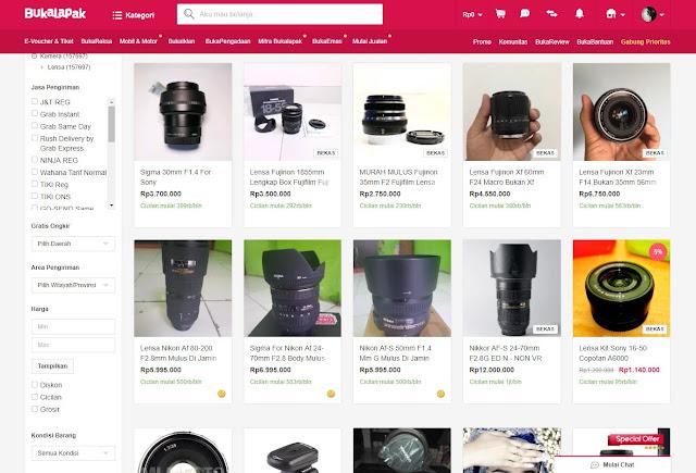 Kategori ->> Lensa Kamera DSLR