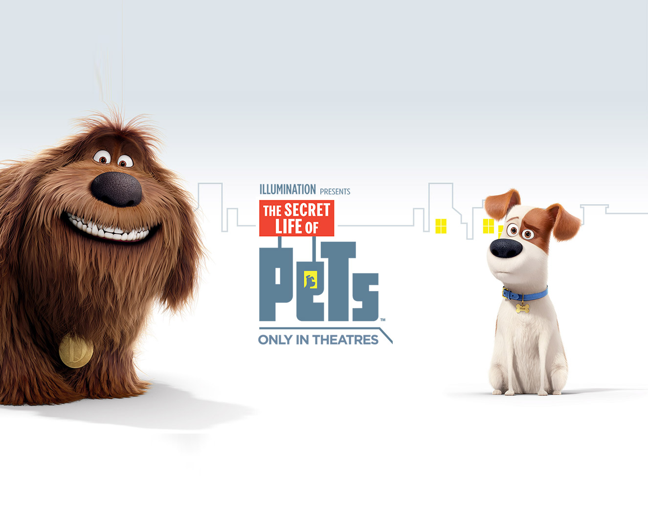 The Secret Life Of Pets Wallpaper: Secret Life Of Pets Movie Wallpaper