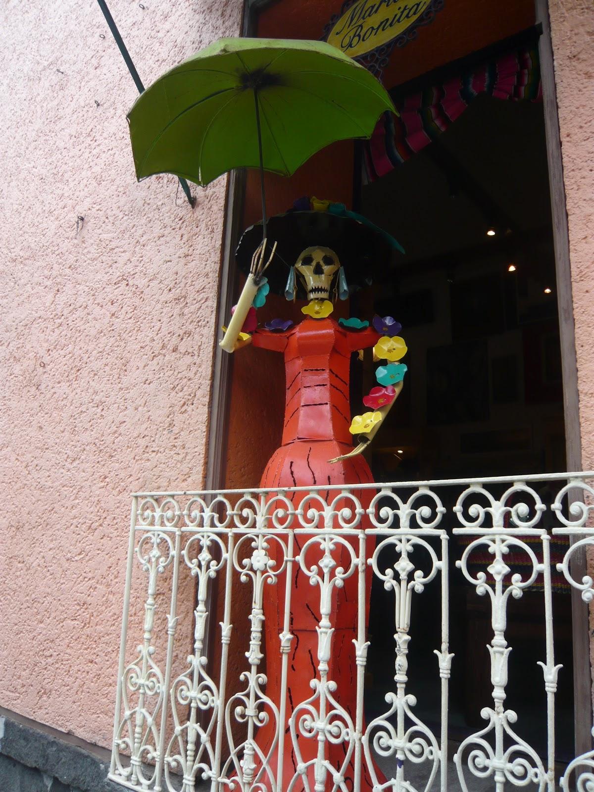 totenfigur in mexiko