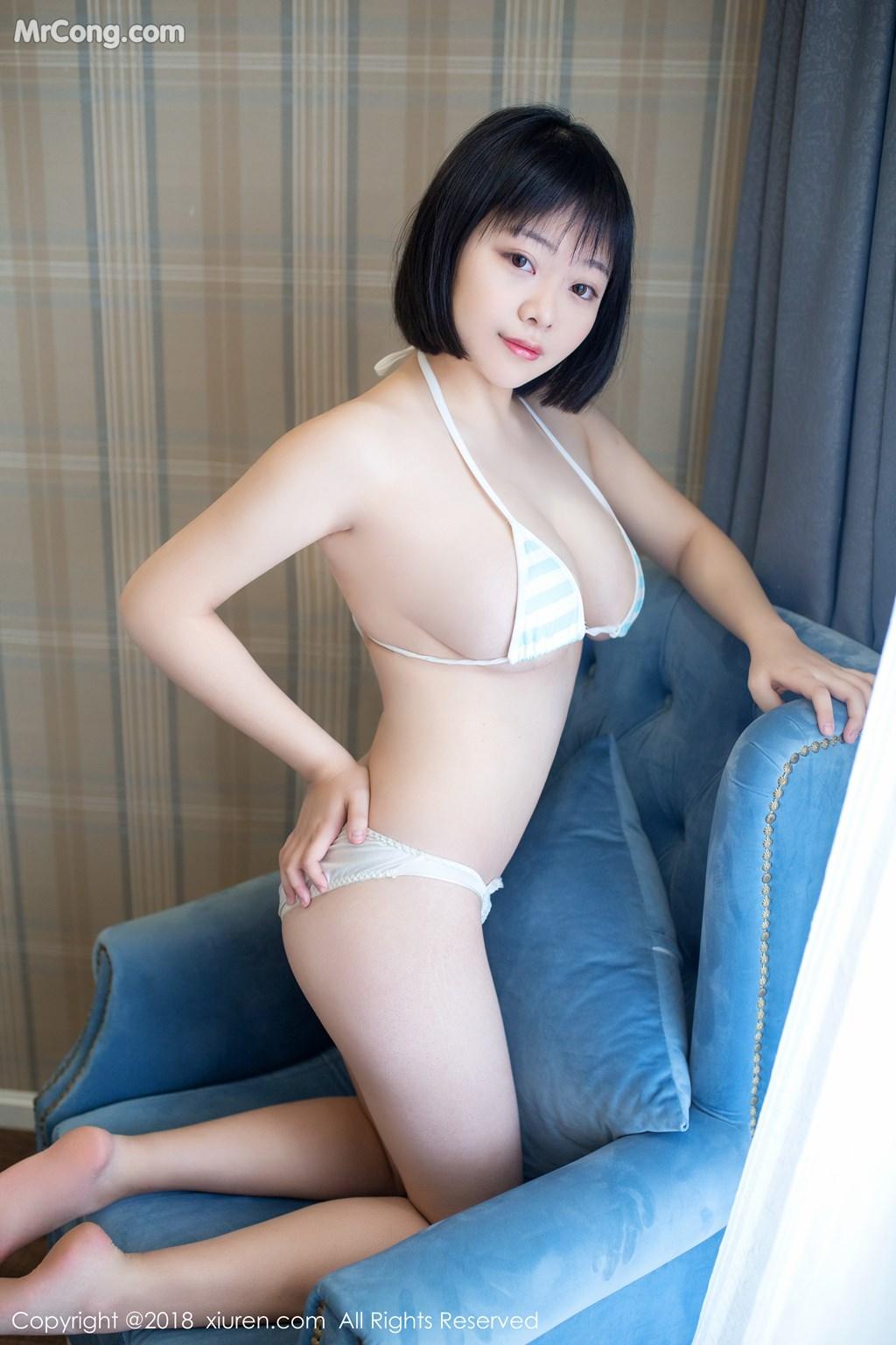 Image XIUREN-No.889-MrCong.com-004 in post XIUREN No.889: Người mẫu 赤间菀枫 (49 ảnh)