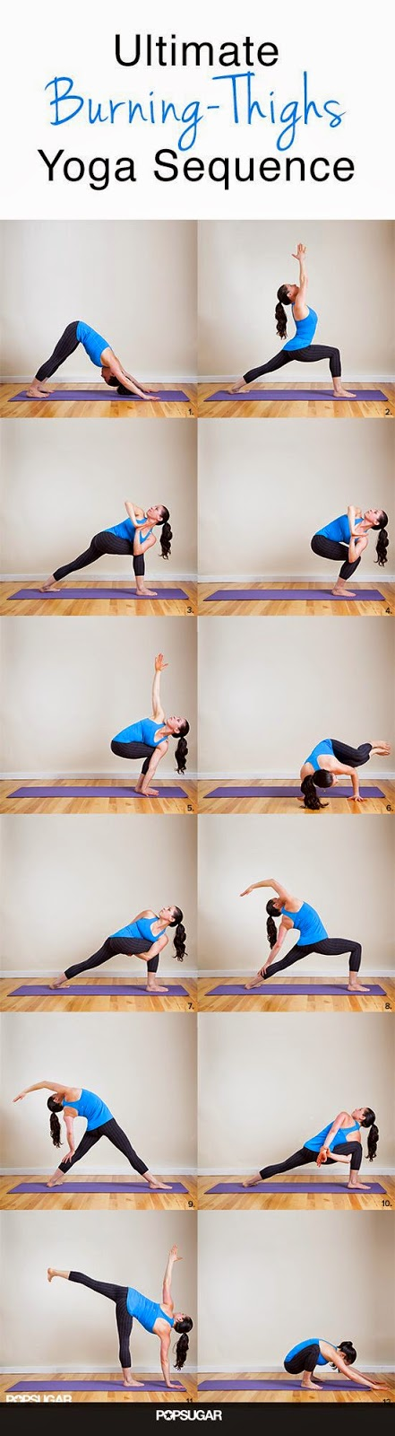 Source: www.PopSugar.com | Ultimate Burning-Thighs Yoga Sequence