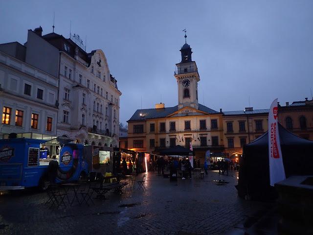 Piątkowy rynek w Cieszynie