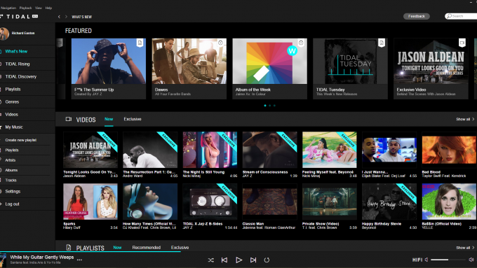 Spotify, Tidal & Qobuz: A Comparison & Review  Part Two: Tidal - The