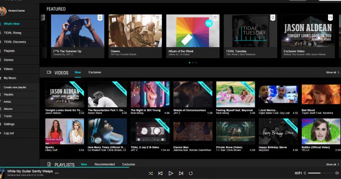 Spotify, Tidal & Qobuz: A Comparison & Review  Part Two: Tidal - The