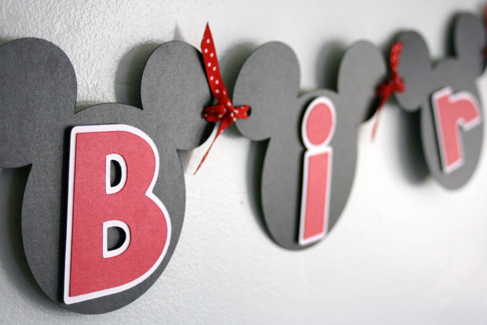 Mickey Mouse Letter Template | Joy Studio Design Gallery ...