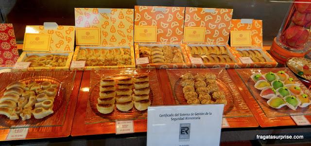 Marzipã, doce típico de Toledo, Espanha