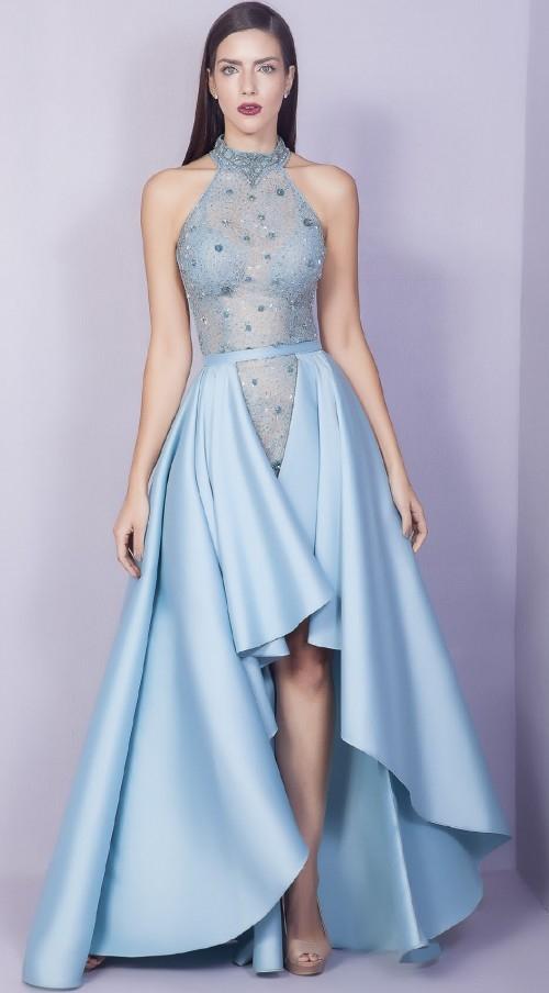 vestido de festa 2 em 1