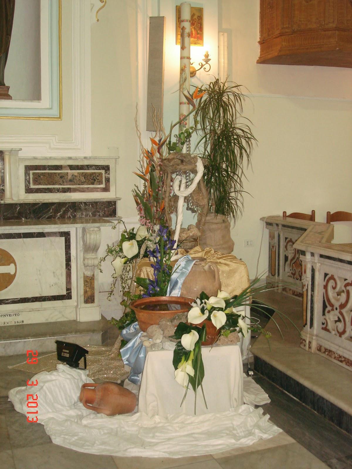 Arte Floreale per la Liturgia 1apr2013