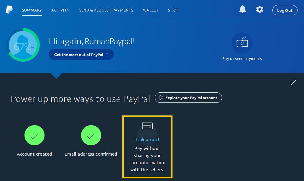 cara verifikasi paypal 1