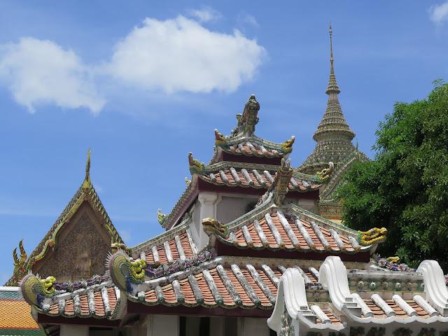Techados del Recinto de Wat Pho