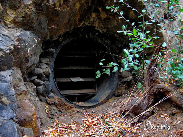 Gated mines are designed to keep people out, while allowing access to bats and other small wildlife.