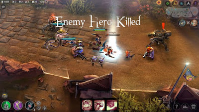 Download Vainglory Mod APK + Data v2.3.0 Update (Unlimited Money) Terbaru 2017