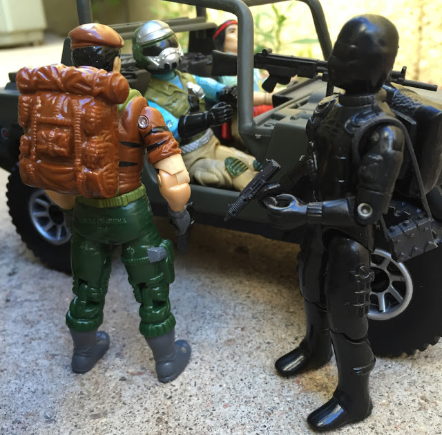 1983 Snake Eyes, 1994 Chinese Flint, Tiger Force Falcon, Steel Brigade, Mail Away, 1984 Spirit Iron Knife, 2004 VAMP, TRU Exclusive