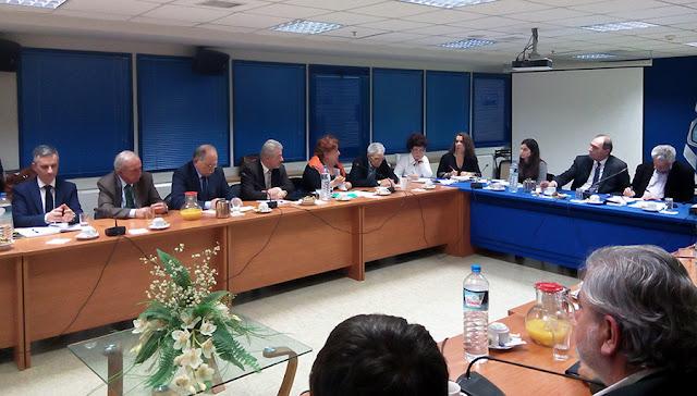 Συνάντηση Δήμων που έχουν στην επικράτεια τους Οργανισμούς Λιμένων, με Σταθάκη και Δρίτσα