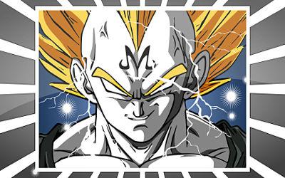 Dragon Ball Super Saiyan Éclairs - Fond d'écran en Full HD 1080p