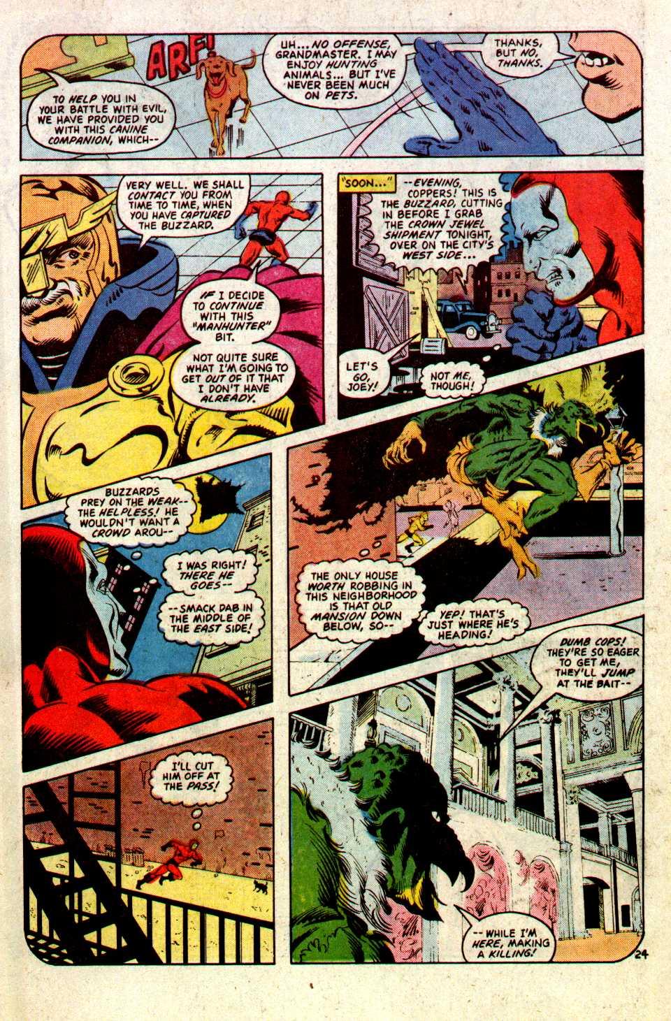 Read online Secret Origins (1986) comic -  Issue #22 - 25