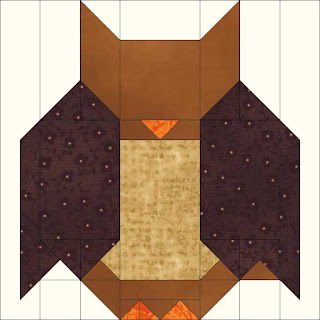 Owl block looks like a bat