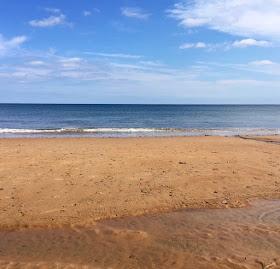 Whitley bay beach England
