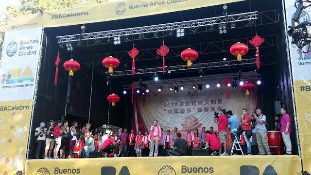 Los festejos del Año Nuevo Chino en Buenos Aires