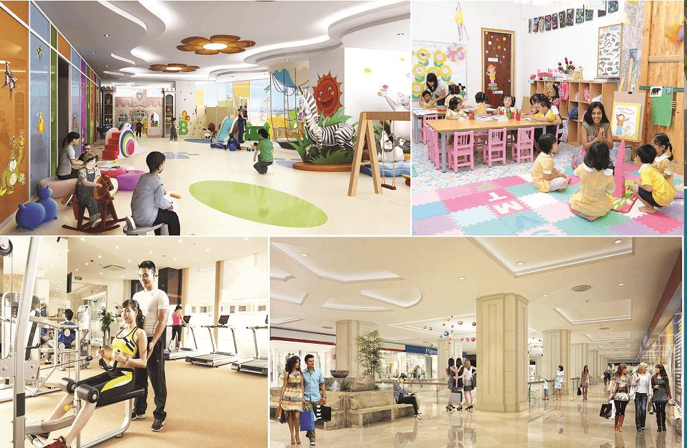 Trung tâm thương mại liền kề Cleve Văn Phú Hibrand
