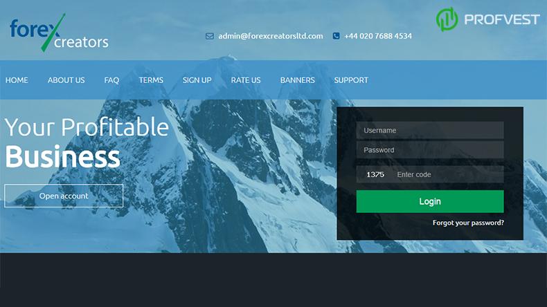 Forex Creators обзор и отзывы вклад 500$