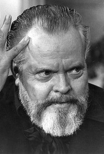 Orson Welles. Director of Touch of Evil
