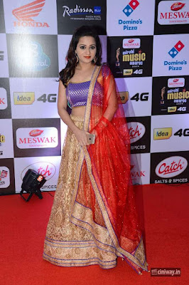Reshma Rathore Stills at Mirchi Music Awards 2016