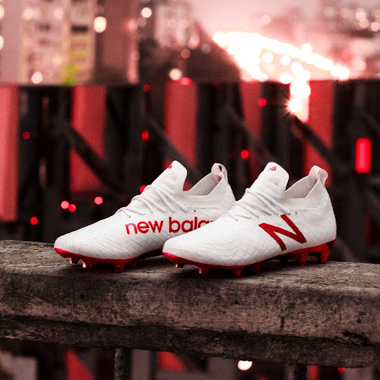 2e33bec44 All-New White / Red New Balance Tekela 2018 Boots Released - Footy ...