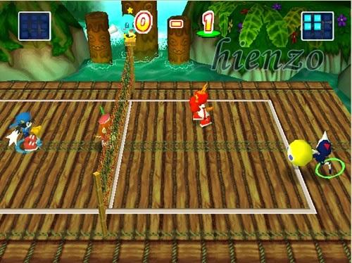 Klonoa Beach Volleyball PS1 Gameplay