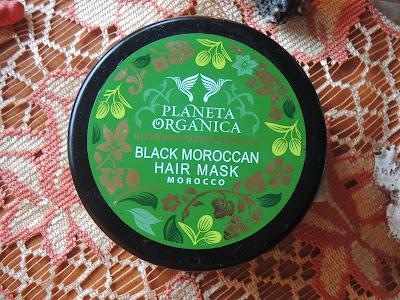 Wtorek włosomaniaczki- Planeta Organica Maska marokańska do włosów