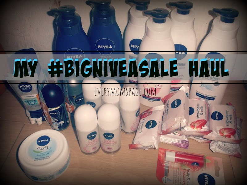 My ‪#‎BigNIVEASale Haul