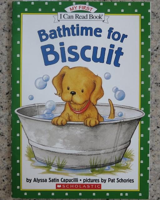 瑜玲育儿经 (Elaine Teh): 英语故事书 Bathtime for Biscuit (阅读报告+活动)