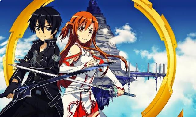 Daftar Rekomendasi Anime Fantasy Romance Terbaik - Sword art Online