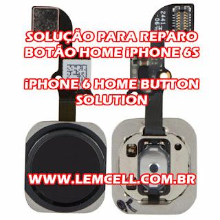 Componentes do Flex do Botão Home iPhone 6s ( Home Button Repair Solution ) Flex components of the Home Button iPhone 6s