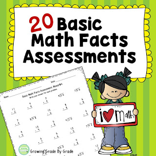 https://www.teacherspayteachers.com/Product/Basic-Math-Facts-Assessments-20-All-Operations-and-Mixed-Operations-2726242